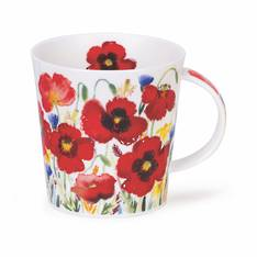 Dunoon Campagne Poppy Mug