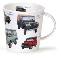 Dunoon Classic Collection Landrovers Mug