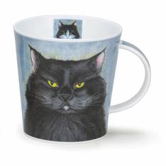 Dunoon Rouge's Gallery Black Cat Mug