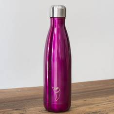 Chilly's Insulated Bottle Pink 500ml