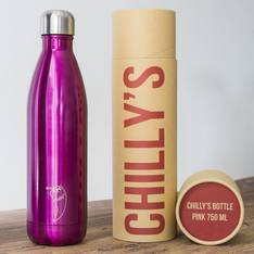 Chilly's Insulated Bottle Pink 750ml