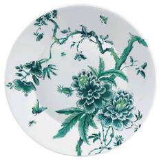 Chinoiserie White Dinner Plate