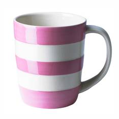 Cornish Coloured Mug - Rose