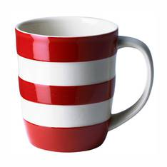 Cornish Coloured Mug - Red