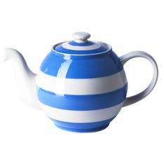 Cornish Blue Betty teapot large