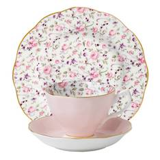Confetti Cup, Saucer & Plate