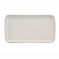 Canvas Rectangular Plate Medium