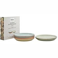 Deli Coupe Plate Set 4