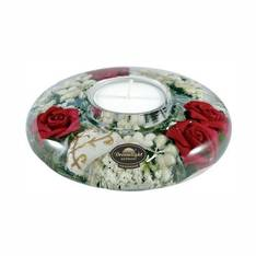 Dreamlight Red Rose UFO Mini Tealight