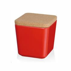 Red Ecoline Storage Jars - assorted sizes
