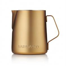 Barista Milk Jug Midnight Gold