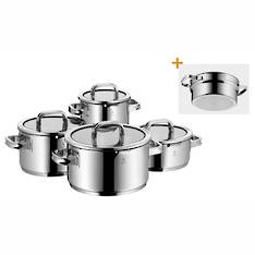 WMF Function 4 Black 5 Piece Cookware Set