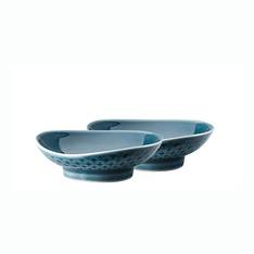 Junto Ocean Blue 8cm Bowl Pair