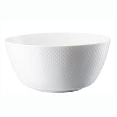 Junto White 22cm Serving Bowl
