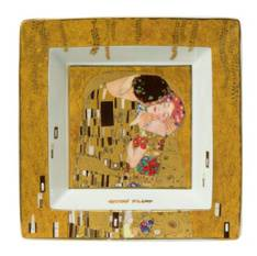 Klimt The Kiss Square Plate