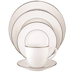 Lenox Platinum Dinnerware Place Setting 5 Piece