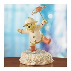 Pooh's Singing in the Rain Figurine