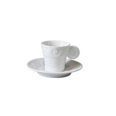 Louvre Espresso Cup and Saucer