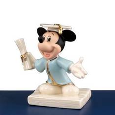 Mickey's Graduation Figurine