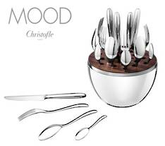Mood Silver 24 Piece Cutlery Set in Egg
