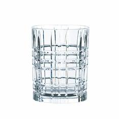 Square Whisky Tumbler Set 4
