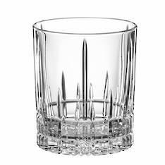 Perfect Serve Tumbler / Double Old Fashioned Glass Set 4