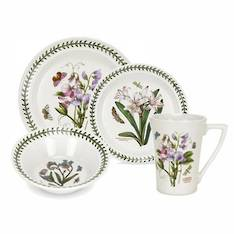 Botanic Garden Dinner Set 16 Piece with Mug