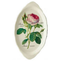Redoute Rose Regal Tray