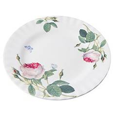 Redoute Rose Plate