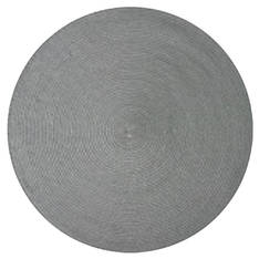 Saleen Round Placemat Light Grey