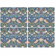 Strawberry Thief Blue Tablemat Set of 4