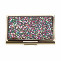 simply sparkling card holder multi