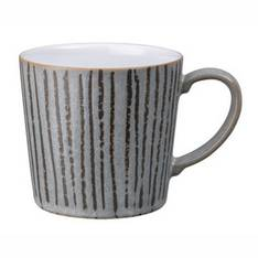 Denby Stripe Mug Dark Grey