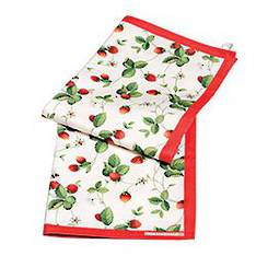 Alpine Strawberry Tea Towel Pair