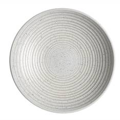 Studio Blue Chalk Medium Ridged Bowl
