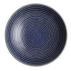Studio Blue Cobalt Medium Ridged Bowl