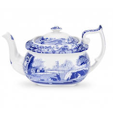 Blue Italian Tea Pot