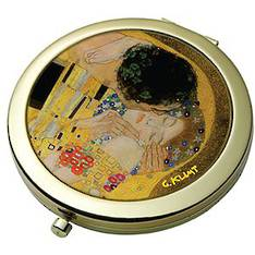The Kiss - Klimt Pocket Mirror