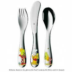 'Disney Winnie The Pooh' Children's 3 Piece Cutlery Set
