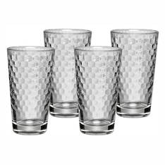 Coffee Time Latte Macchiato Glasses set of 4