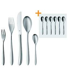 Silk 30 Piece Cutlery Set with FREE Espresso Spoons