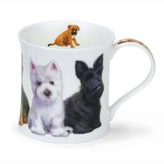 Dunoon Puppies Scotties Mug