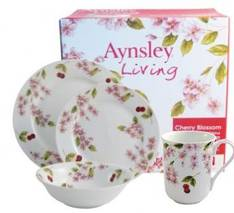 Cherry Blossom Dinner Set 16 Piece
