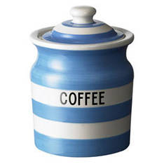Cornish Blue Coffee Storage Jar