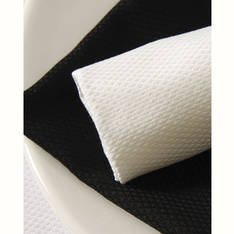 Zucchi Damask Placemat Black
