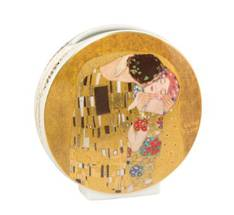 Klimt The Kiss Vase Round 12cm
