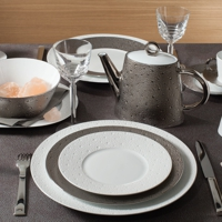 Bernardaud Ecume Gold Platinum