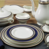 Aynsley Blue Orient Dinnerware