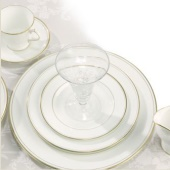 Aynsley Corona Gold Dinnerware