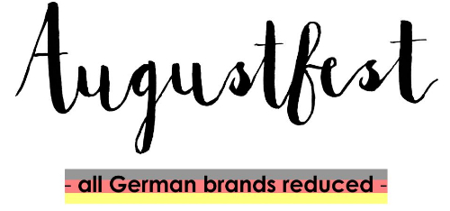 Augustfest - All German brands reduced
